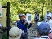 葦毛湿原の昔と今、植生回復作業