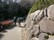 花崗岩の石垣