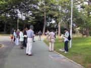 桜ヶ丘公園での観察