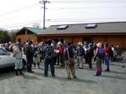 豊橋市ふれあい市民の森管理ハウスに集まった参加者
