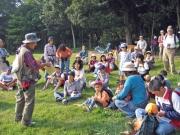 大倉山自然観察会の様子
