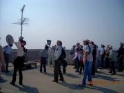 伊勢湾海上交通センター屋上での観察