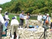 水生生物調査の説明