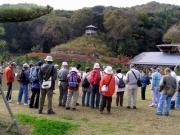 修景池からドウダンツツジの紅葉