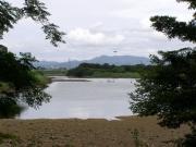 干潮の豊川