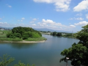 豊川と金色島