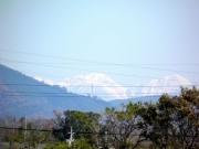 豊川河畔からの南アルプス