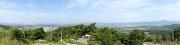 見晴荘跡地からの眺望