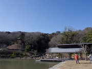 1月の修景庭園周囲