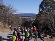 ふるさと公園から臨む本宮山