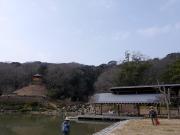 2月の修景庭園周囲