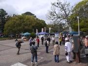 イベント開催中の豊橋公園