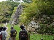 吉田城の野面積み