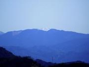 今年も見られた富士山